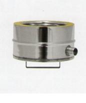 Tappo di scarico condensa laterale doppia parete